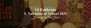 San Valentino Valiani 1831 Pistoia